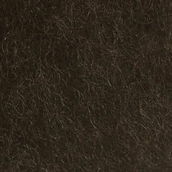 Bilde av Kardet ull, mørk brun 100g